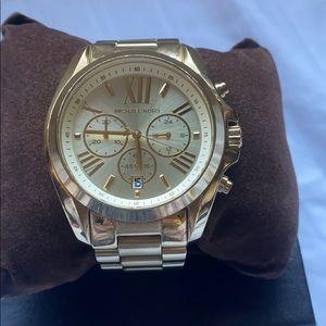 Michael Kors Bradshaw gold watch
